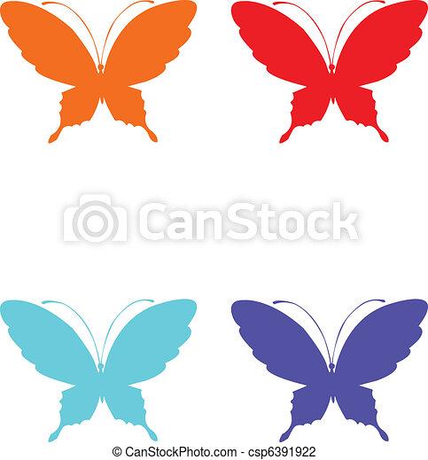 Butterflies  - csp6391922