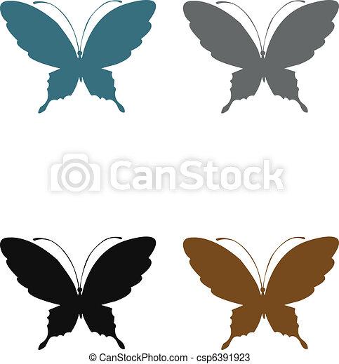Butterflies terra - csp6391923