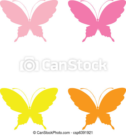 Butterflies  - csp6391921