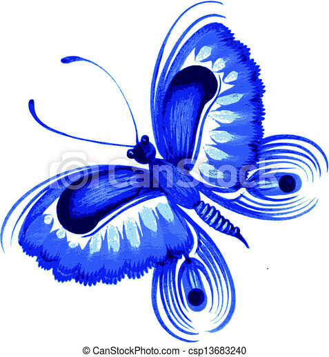butterfly - csp13683240