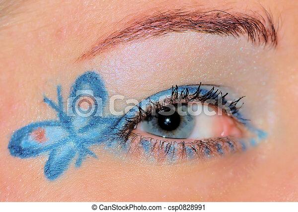 Butterfly Eye 1 - csp0828991