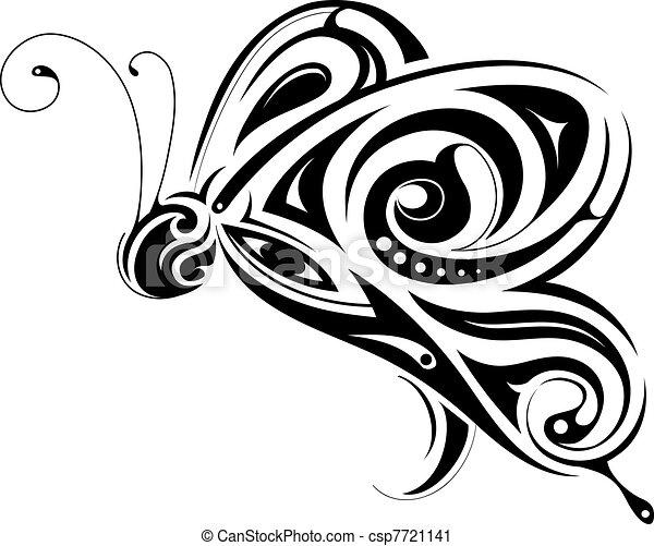 Butterfly shape - csp7721141