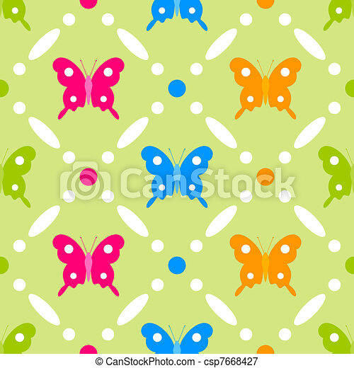 Butterfly stitches - csp7668427