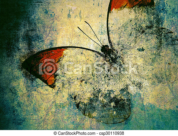 butterfly - csp30110938