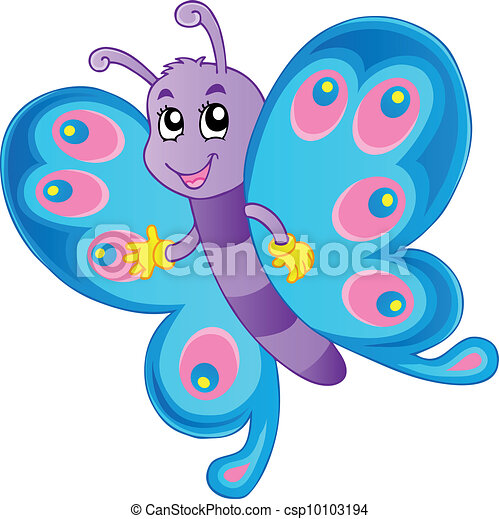 Butterfly theme image 1 - csp10103194