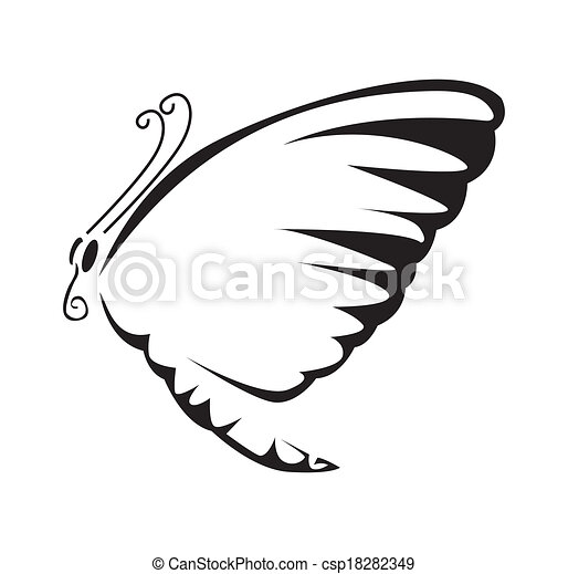 Butterfly Vector Illustration - csp18282349