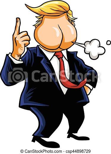 Butthead Cartoon Vector Caricature - csp44898729