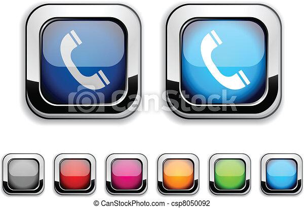 button., 電話 - csp8050092