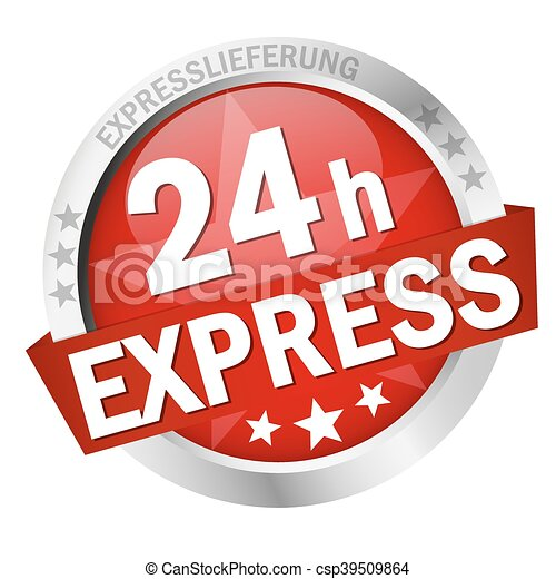 Button 24h Express - csp39509864