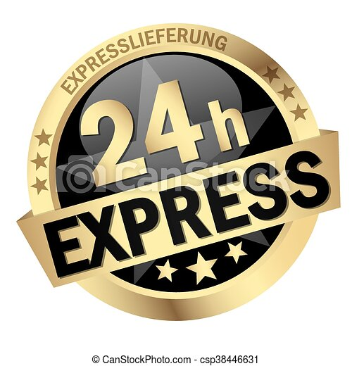 Button 24h Express - csp38446631