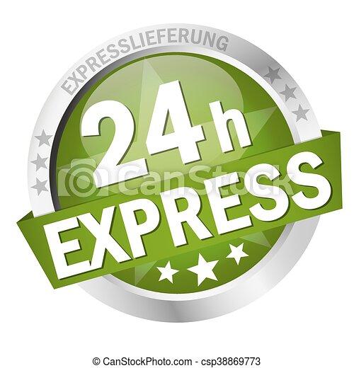 Button 24h Express - csp38869773