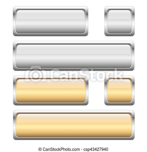 button collection 2 colors - csp43427940