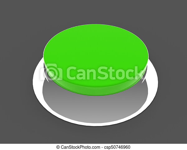 button concept icon . 3d rendered illustration - csp50746960