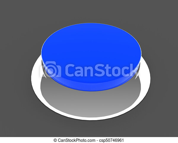 button concept icon . 3d rendered illustration - csp50746961