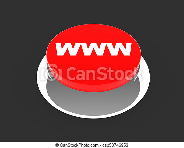 button concept icon . 3d rendered illustration - csp50746953