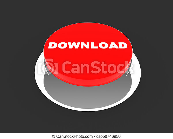 button concept icon . 3d rendered illustration - csp50746956
