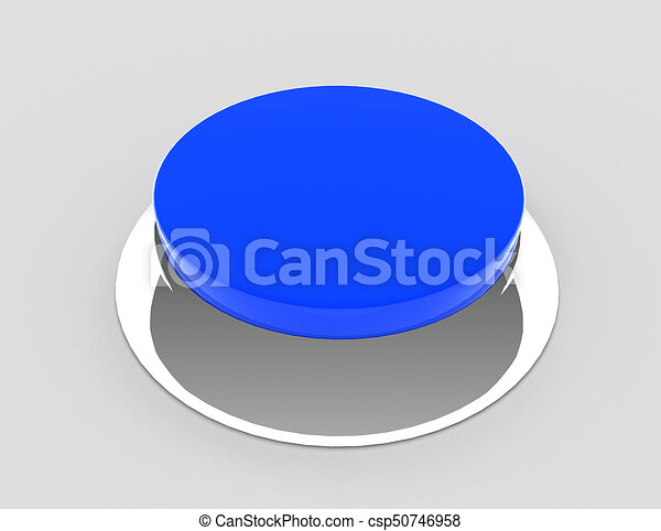 button concept icon . 3d rendered illustration - csp50746958
