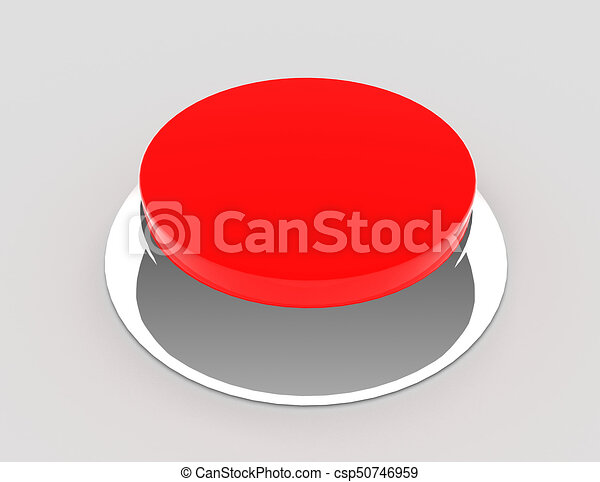 button concept icon . 3d rendered illustration - csp50746959