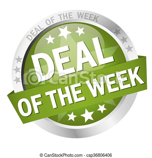 button Deal of the week - csp36806406
