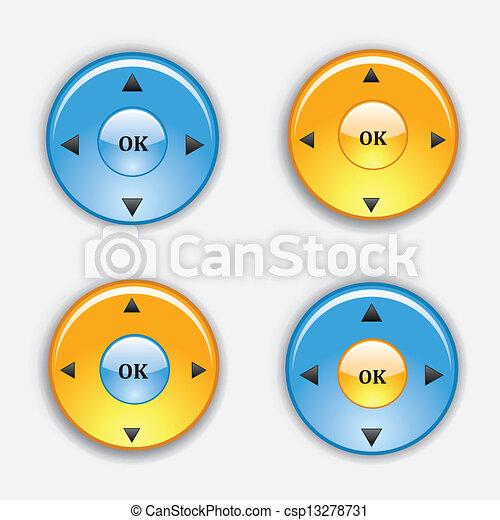 button - csp13278731