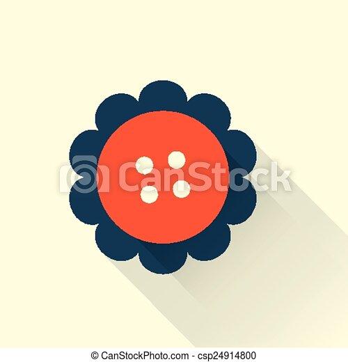 button flat style icon - csp24914800