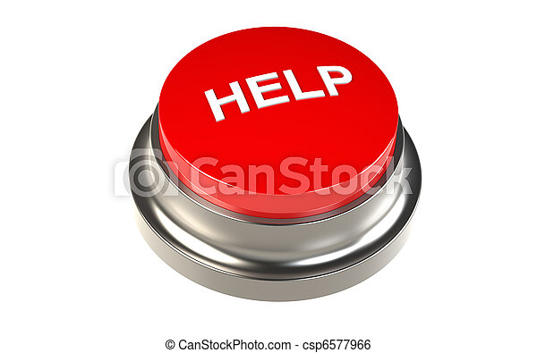 Button for Help - csp6577966