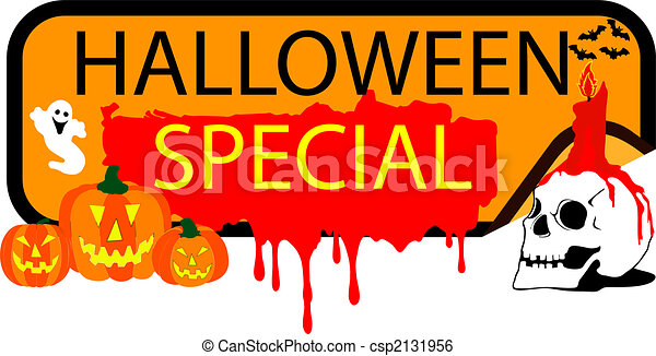 Button halloween Special - csp2131956