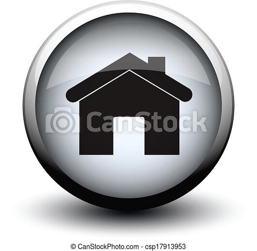 button home 2d - csp17913953