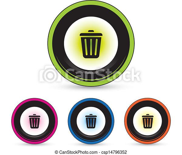 button icon set - csp14796352