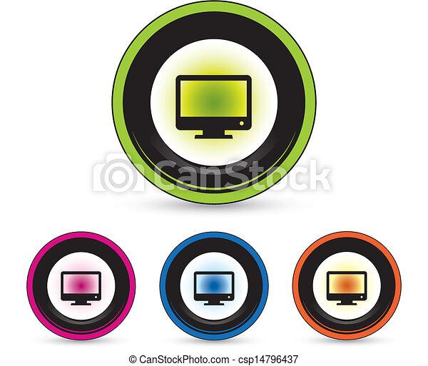 button icon set - csp14796437