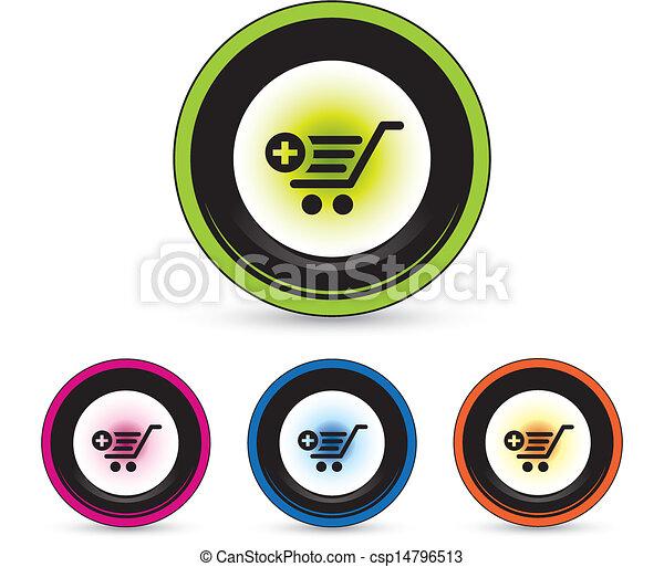 button icon set - csp14796513
