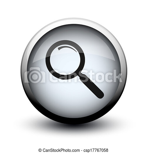 button loupe 2d - csp17767058