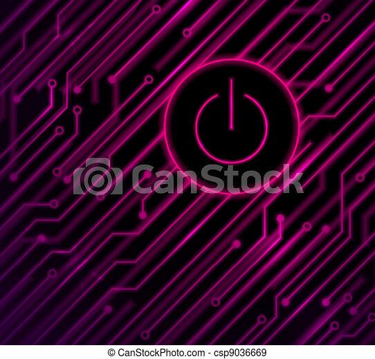 Button on - csp9036669