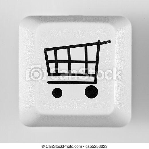 button online shopping - csp5258823