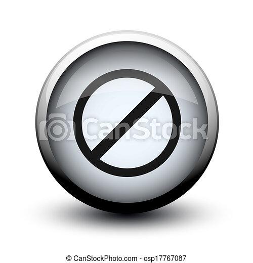 button prohibition 2d - csp17767087