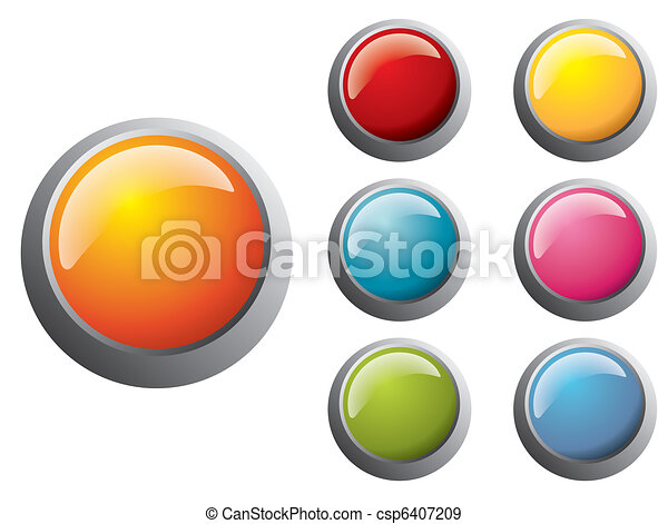 Button Set - csp6407209