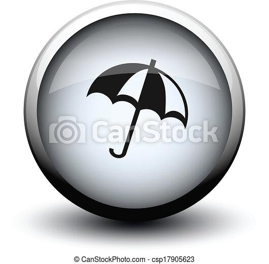 button umbrella 2d - csp17905623