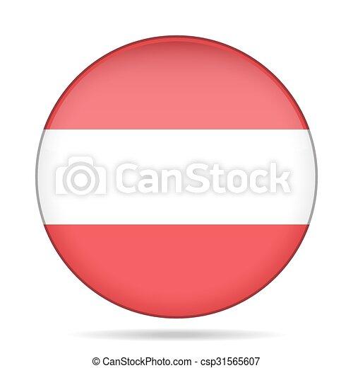 button with flag of Austria - csp31565607