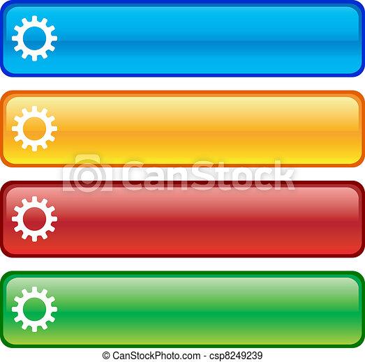 buttons., einstellungen - csp8249239