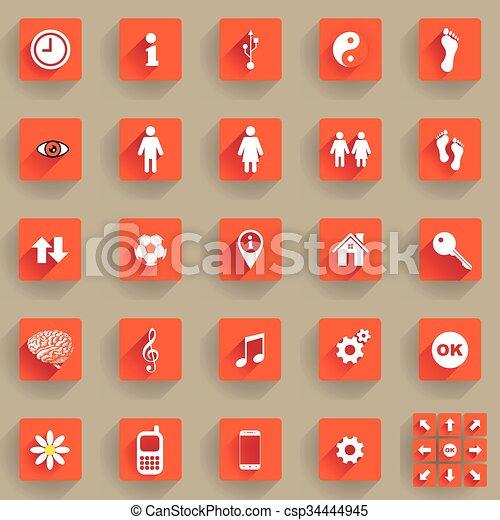 buttons - csp34444945