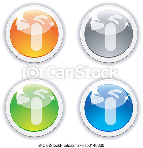 buttons., estintore - csp8146880
