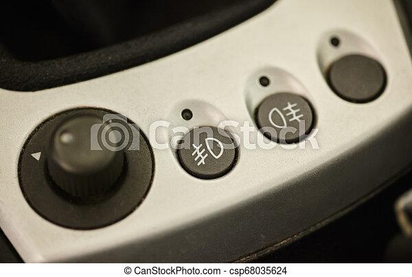 Buttons for fog lights - csp68035624