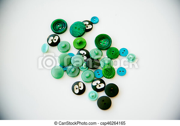 Buttons isolated on white background - csp46264165