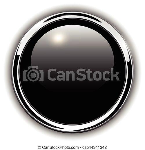 Buttons shiny metallic - csp44341342