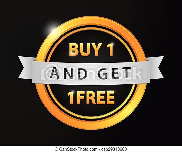 Buy 1 get 1 Free - csp29318660