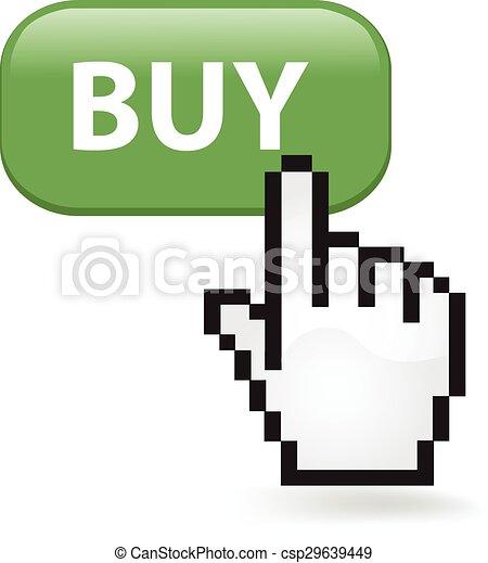 Buy Button - csp29639449