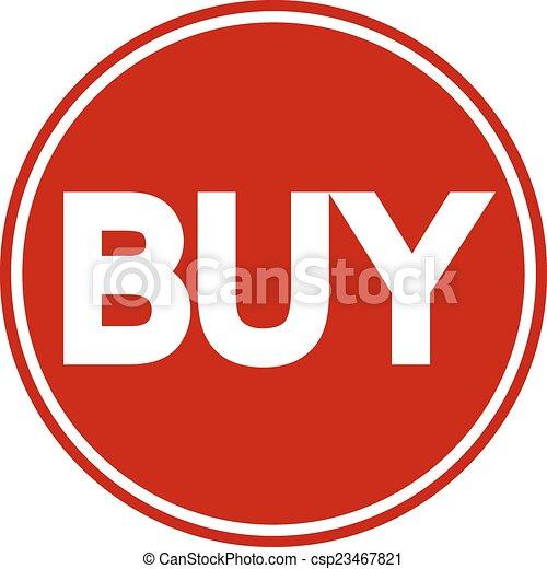 Buy button - csp23467821