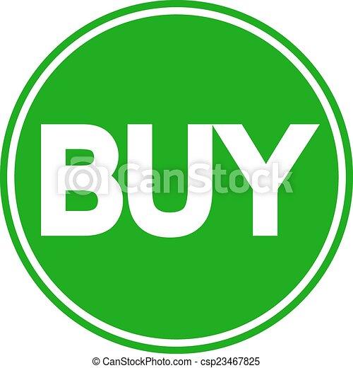 Buy button - csp23467825