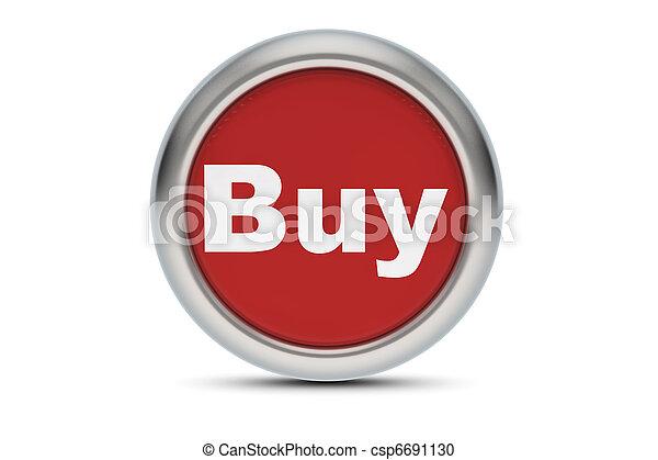 Buy button - csp6691130