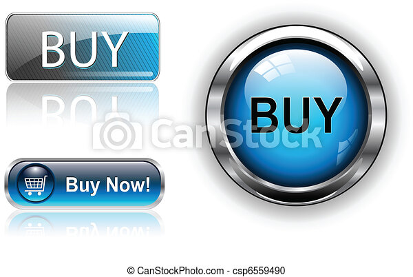 Buy buttons, icons set. - csp6559490